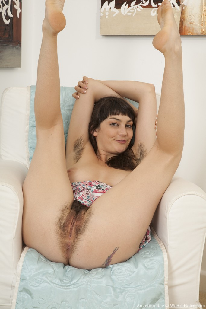 Angelina Dee from WeAreHairy.com