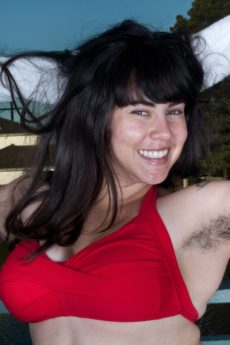 WeAreHairy Cleo Is an Extra Hairy Curvy Cutie