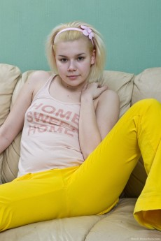 We Are Hairy Teen Elen Is Blonde Bored and Horny