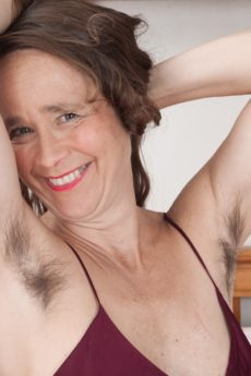 Almost mature woman hairy vagina