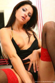 Katya K in lingerie